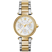 Buy Michael Kors Women's Parker Stainless Steel Bracelet Watch Online at johnlewis.com