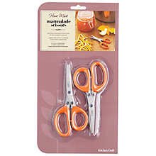 Buy Kitchen Craft Marmalade Scissors, Twin Pack Online at johnlewis.com