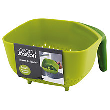 Buy Joseph Joseph Square Colander, Green Online at johnlewis.com