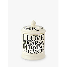 Buy Emma Bridgewater Black Toast Sugar Storage Jar, 1 Pint Online at johnlewis.com
