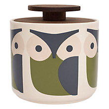 Buy Orla Kiely Owl Storage Jar, 1L Online at johnlewis.com