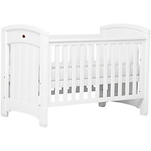 Buy Boori Classic Royale Cotbed, White Online at johnlewis.com