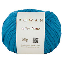 Buy Rowan Cotton Lustre Chunky Yarn, 50g Online at johnlewis.com