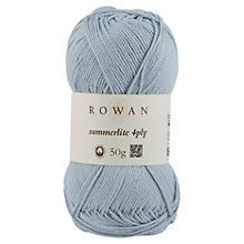 Buy Rowan Summerlite 4 Ply Yarn, 50g Online at johnlewis.com