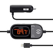 Buy Belkin TuneCast Auto Live with Lightning Connector Online at johnlewis.com