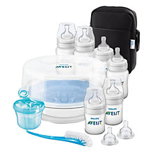 Buy Philips Avent SCD383/01 Natural Bottle Feeding Set Online at johnlewis.com