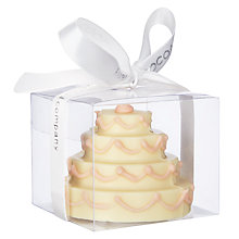 Buy Cocoabean Company Chocolate Wedding Cake Slice Online at johnlewis.com