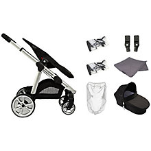 Buy iCandy Apple 2 Pear Anniversary Pushchair Package with Silver Chassis & Grey Hood Online at johnlewis.com
