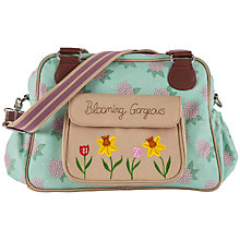 Buy Pink Lining Blooming Gorgeous Hydrangea Print Tote Changing Bag, Green/Pink Online at johnlewis.com
