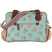 Buy Pink Lining Not So Plain Jane Hydrangea Print Changing Bag, Green/Pink Online at johnlewis.com