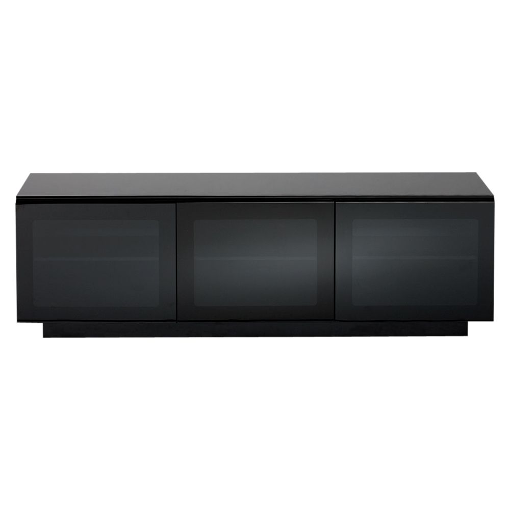 BDI BDI Mirage 8227-2 Television Cabinet for TVs up to 65, Gloss Black