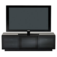 "Buy BDI Mirage 8227-2 Television Cabinet for TVs up to 65"", Gloss Black Online at johnlewis.com"