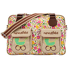 Buy Pink Lining Mama Et Bebe Cottage Garden Print Changing Bag, Multi Online at johnlewis.com