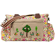 Buy Pink Lining Twins Cottage Garden Print Changing Bag, Multi Online at johnlewis.com