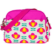 Buy Rosebud Retro Bloom Tote Changing Bag, Pink Online at johnlewis.com