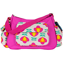 Buy Rosebud Hobo Retro Bloom Changing Bag, Pink Online at johnlewis.com