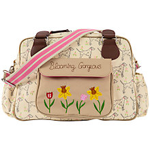 Buy Pink Lining Blooming Gorgeous Dalmatian Print Tote Changing Bag, Cream/Multi Online at johnlewis.com