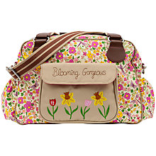 Buy Pink Lining Blooming Gorgeous Cottage Garden Print Tote Changing Bag, Multi Online at johnlewis.com