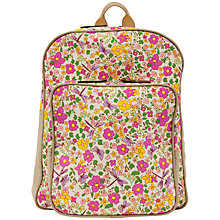 Buy Pink Lining Wanderlust Rucksack, Cottage Flowers Online at johnlewis.com