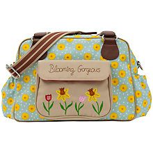 Buy Pink Lining Blooming Sunflower Print Tote Changing Bag, Yellow/Blue Online at johnlewis.com
