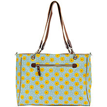 Buy Pink Lining Bramley Sunflower Print Tote Changing Bag, Yellow/Blue Online at johnlewis.com
