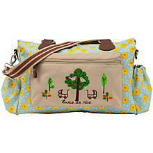 Buy Pink Lining Twins Sunflower Print Changing Bag, Yellow Online at johnlewis.com