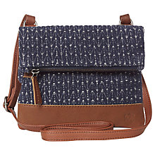 Buy White Stuff Patchwork Lizzie Crossbody Bag, Navy Online at johnlewis.com