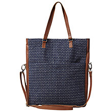 Buy White Stuff Patchwork Shopper Bag, Navy Online at johnlewis.com