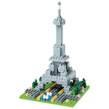 Buy Nanoblock Eiffel Tower Online at johnlewis.com