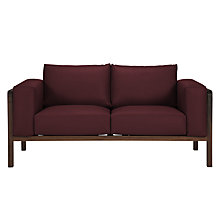 Buy John Lewis Heming Medium Leather Look Sofa Online at johnlewis.com
