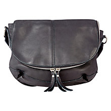 Buy Oasis Sascha Satchel Bag, Black Online at johnlewis.com