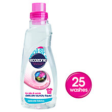 Buy Ecozone Delicate Laundry Liquid, 750ml Online at johnlewis.com