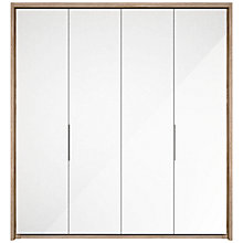 Buy John Lewis Satis 200cm Wardrobe with Glass Hinged Doors Online at johnlewis.com