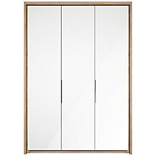 Buy John Lewis Satis 150cm Wardrobe with Glass Hinged Doors Online at johnlewis.com