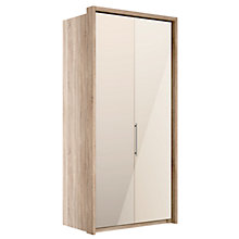 Buy John Lewis Satis 100cm Wardrobe with Bronzed Mirrored Hinged Doors Online at johnlewis.com