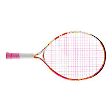 "Buy Babolat Butterfly 21"" Junior Tennis Racket, Pink/Orange Online at johnlewis.com"