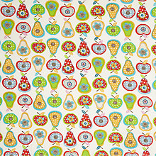 Buy John Lewis Apples & Pears Fabric, Multi Online at johnlewis.com