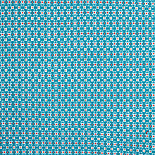 Buy John Lewis Diamond Ditsy Fabric, Blue Online at johnlewis.com