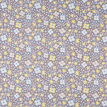 Buy Dashwood Fly Away Floral Print Fabric, Grey Online at johnlewis.com