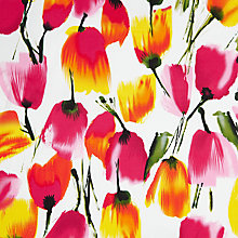 Buy John Lewis Painted Tulip Fabric Online at johnlewis.com