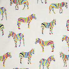 Buy John Lewis Multi Zebras Fabric Online at johnlewis.com