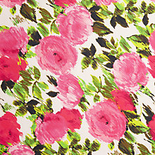 Buy John Lewis Sketched Roses Fabric Online at johnlewis.com