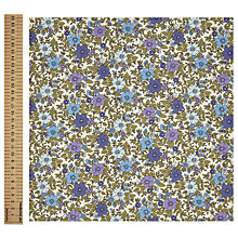 Buy John Lewis Simple Flower Print Fabric Online at johnlewis.com