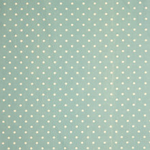 Buy John Lewis Small Spot Fabric, Blue Online at johnlewis.com