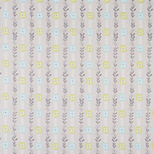Buy Dashwood Floral Print Fabric, Grey Online at johnlewis.com