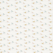 Buy John Lewis Chaffinch Print Fabric, Multi Online at johnlewis.com