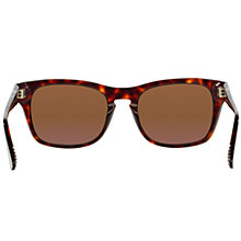 Buy Persol PO3072S Polarised Rectangular Sunglasses, Havana Online at johnlewis.com