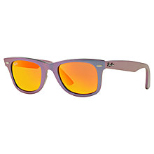 Buy Ray-Ban 2140 Unisex Original Wayfarer Cosmo Sunglasses Online at johnlewis.com
