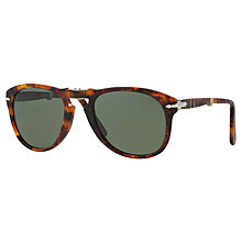 Buy Persol 0714 Aviator Polarised Sunglasses Online at johnlewis.com