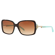 Buy Tiffany & Co TF4043 Sunglasses, Havana Online at johnlewis.com